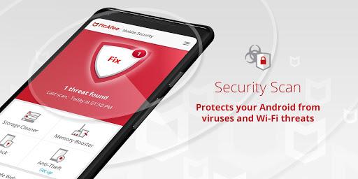 Mobile Security: Antivirus, Anti-Theft & Safe Web 5.0.2.1839 screenshots 2
