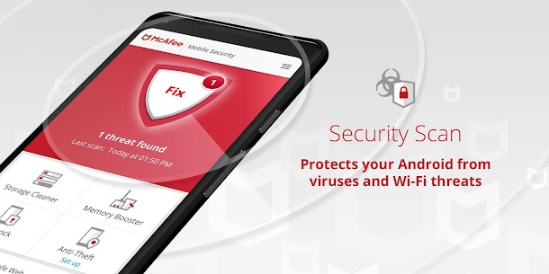 McAfee Mobile Security : Antivirus, Web Scan & App Lock 2