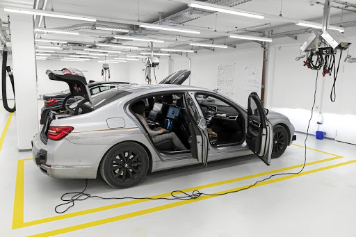 The company is testing and analysing data in a controlled environment. Picture: BMW