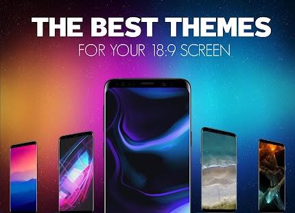 S10 Live Wallpaper HD, Amoled Background 4K Free Screenshot