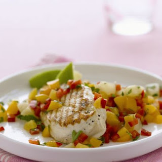 Diced Mango Salsa with Chicken