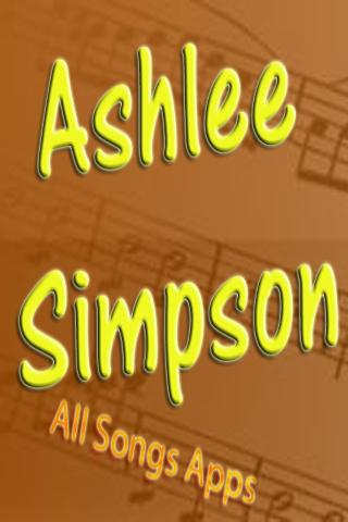 All Songs of Ashlee Simpson