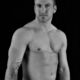 Jon by Mark Wathen - Nudes & Boudoir Artistic Nude ( nude, football, male, sports, artistic nude )