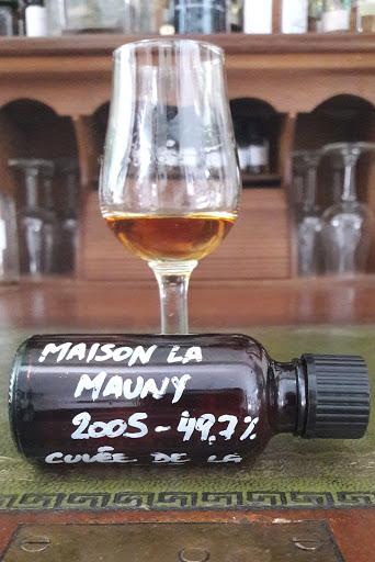 Maison La Mauny  pour la confrérie du rhum 49,7%