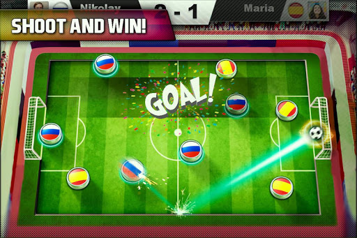 Soccer finger Caps 2018 World Cup 1.0 screenshots 3