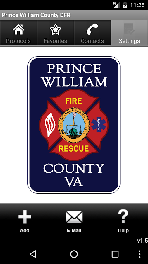 Prince William County DFR- screenshot