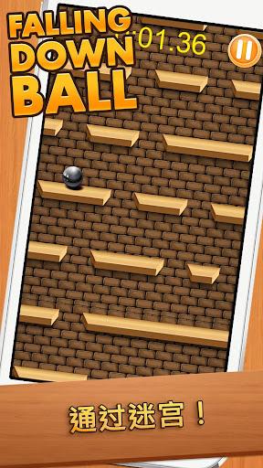 跌倒的球|玩街機App免費|玩APPs