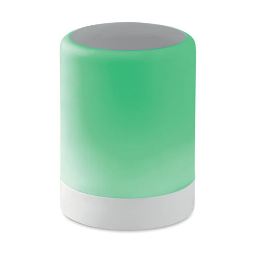 Wireless colour changing smartphone charger powerbank
