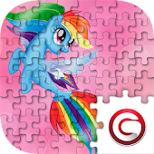 Little Pony Puzzle for kids Mod
