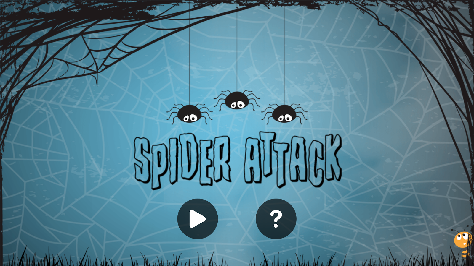 Spider Attack- screenshot