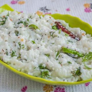 Curd Rice Accompaniment Recipes