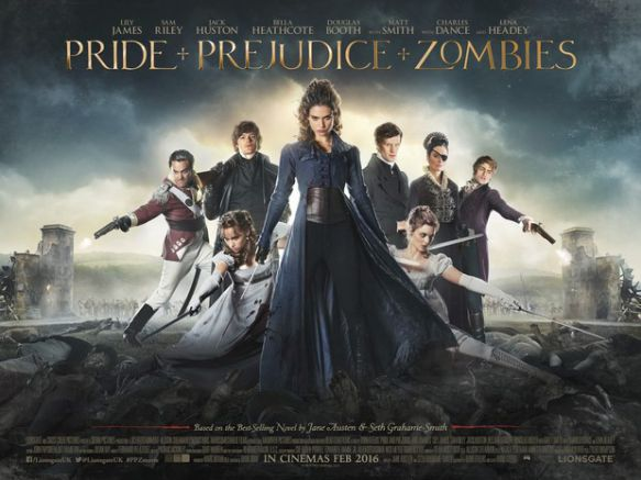 La locandina di PPZ - Pride + Prejudice + Zombies