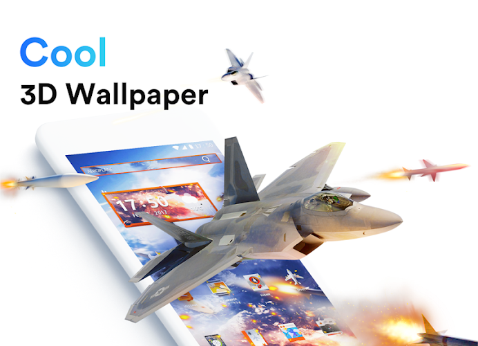 ME Launcher - Theme & 3D Wallpaper, Fast Android App Screenshot