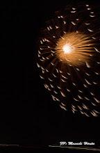 Photo: 「全国7号玉コンクール」 3.菊屋小幡花火店(群馬県) 玉名 モノクロームの華