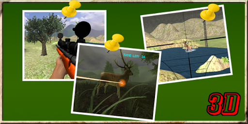 Deer Hunt: Sniper Shooter 3D