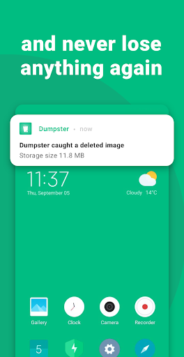 Restore Deleted Photos and Video Files by Dumpster screenshot 2