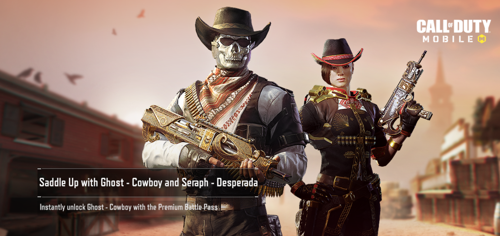 Call of Duty Mobile Wild West season