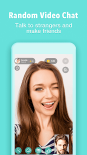 Meet – Talk to Strangers Using Random Video Chat - náhled