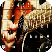 Guitarist keyboard theme