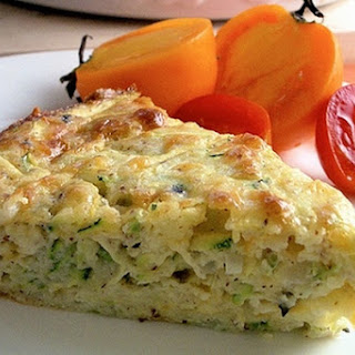 Baked Zucchini With Feta Cheese.