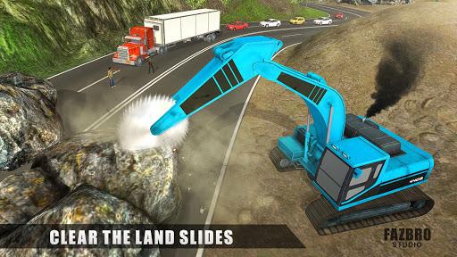 Heavy Excavator Rock Mining Stone Cutter Simulator 4.2 screenshots 10