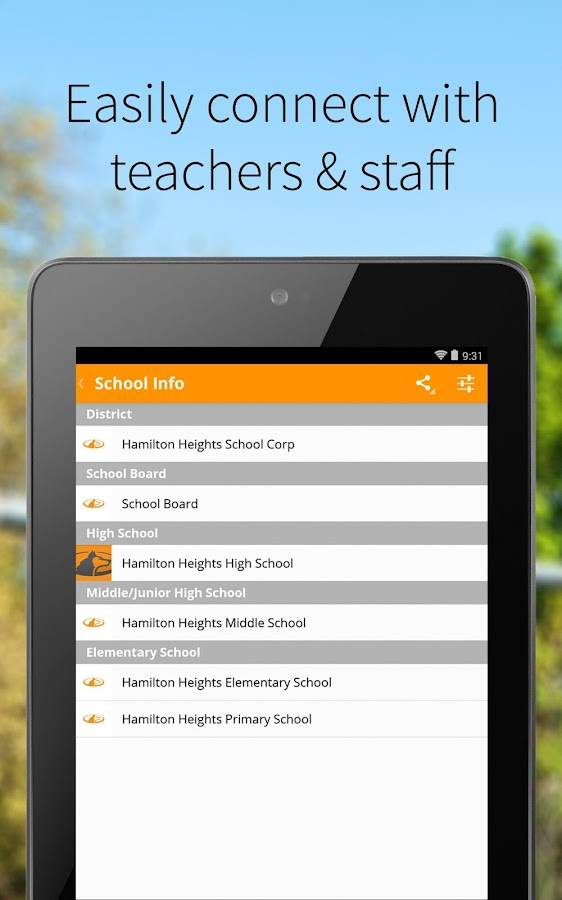 Hamilton Heights School Corp- screenshot