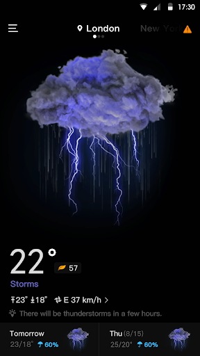 Live Weather Forecast - Accurate weather & Radar  screenshots 1