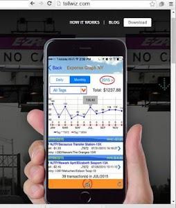 NEW EZPASS APP: TOLLS+MILEAGE screenshot 2