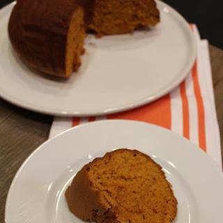 Pumpkin Bundt Cake.