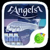 Angels Keyboard Theme & Emoji