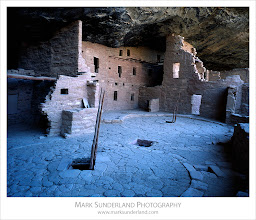 Photo: #FilmFriday  Spruce Tree House Ruin  Here's an archive image for#FilmFriday, curated by +Richard Call, taken on a trip to Mesa Verde National Park in Colorado a few years back with my Deardorff large format camera. I was there with a group with US based British landscape photographer Nigel Turner and we'd set up a few tripods to capture the cool light under the canyon rim at Spruce Tree House Ruin. There was a self guiding trail through these ruins and there was a large plaque standing on the ledge to the left of the image bearing the number in the guide, which spoilt the effect a bit, so we asked the ranger if it could be moved for a few moments while we took our shots! She kindly obliged so we all got transparencies without the offending number. Not something we'd bother with these days of course, with digital images and Photoshop...  Deardorff 45 Special, Schneider Super-Angulon 90mm at f45 Pentax Spotmeter, Fuji Velvia Quickload at ISO 50