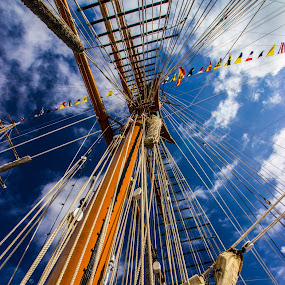 Sails by Danny Andreini - Artistic Objects Other Objects ( ship, sails, transportation, boat, spain )