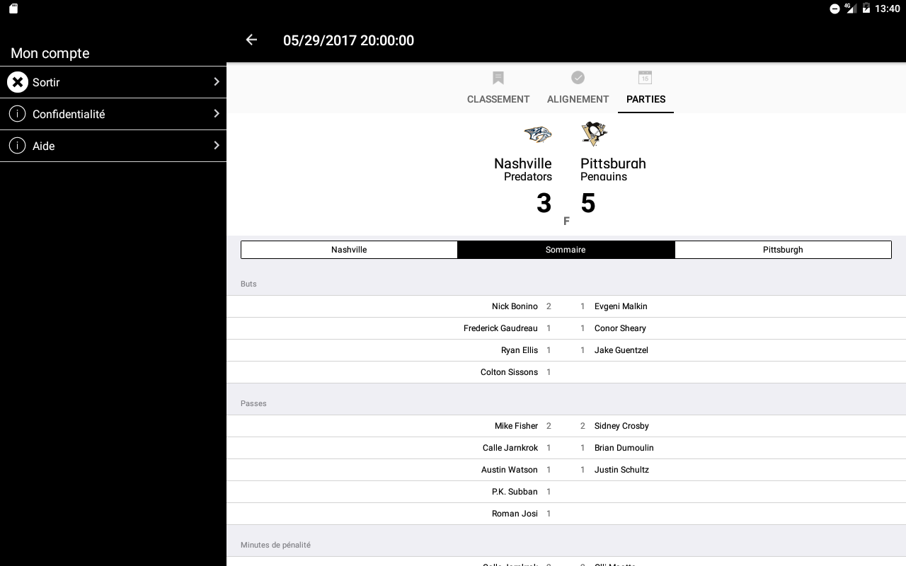 Le PNH - Le Pool National de Hockey- screenshot
