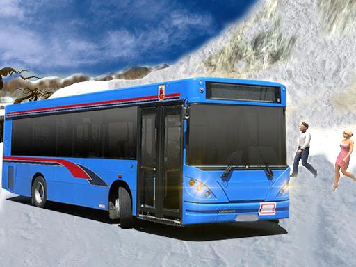 越野雪公交運輸車