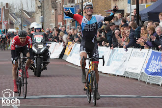 Photo: 11-03-2018: Wielrennen: Dorpenomloop: RucphenDe Deen Mikkel Bjerg wint Dorpenomloop Rucphen (Hagens Berman Axeon)