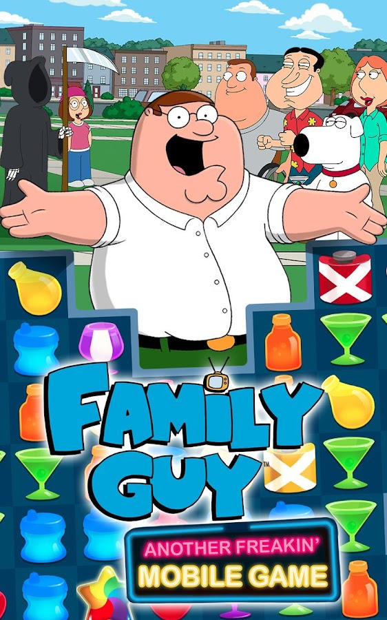 Family Guy Freakin Mobile Game- screenshot