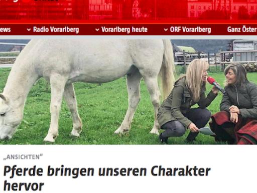 ORF - Ansichten von Anja Hampel