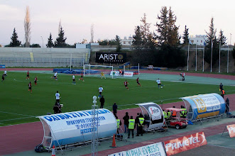 Photo: 06/02/11 v Eremis Aradippou (Cyprus 1st Division) 3-1 - contributed by Gary Spooner