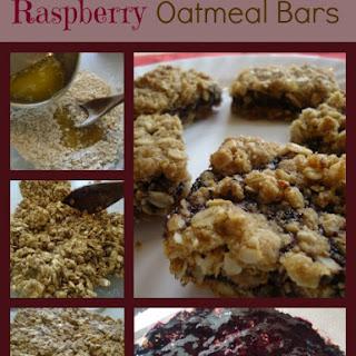 Raspberry Oatmeal Bars