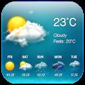 Weather & Clock Widget Free icon