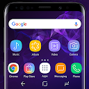 Galaxy S9 purple Theme Xperia™ APK
