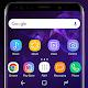 Galaxy S9 purple Theme Xperia™ apk