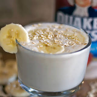 Maple Oatmeal Breakfast Smoothie.