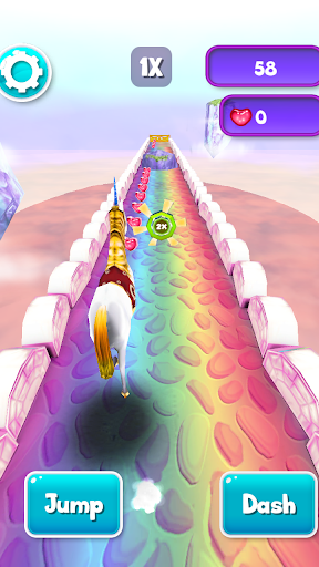 My Little Unicorn Runner 3D 2 1.1.38 screenshots 6