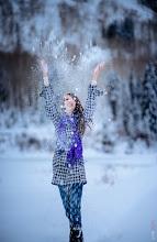 "Photo: ""Girls just wanna have fun""  Taken yesterday up in the snow. Brighton Utah"