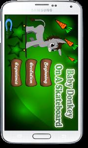 Baby Donkey On A Skateboard screenshot 1