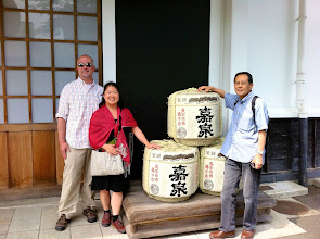Photo: Tamura Sake Brewery, Fussa, Japan.  May 2012.