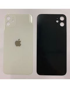 iPhone 11 Back Glass White/Silver