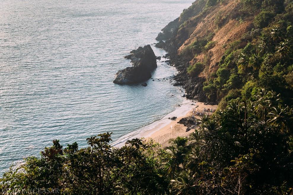 Пляж Дарвалем, Южный Гоа