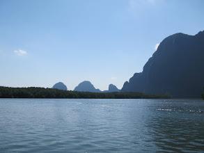 Photo: Heading out into Phang Nga Bay